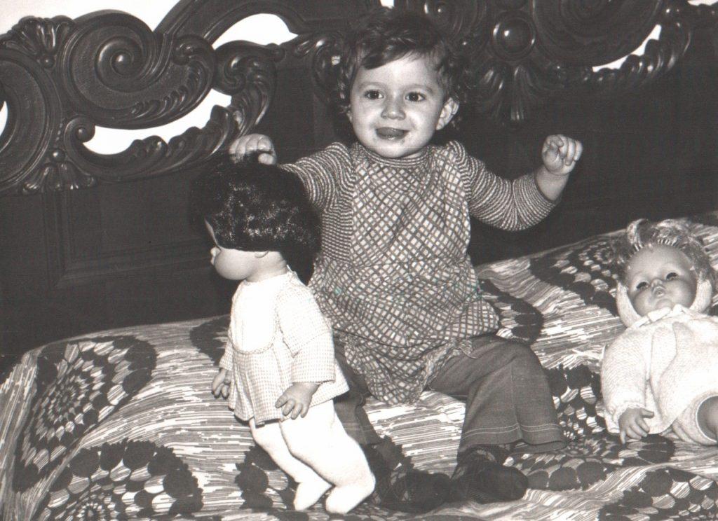 io da piccola con mia madre | essere madre |Francesca Felaco Life Coach