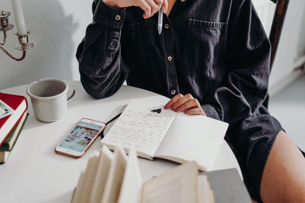 Come gestire le emozioni attraverso un diario